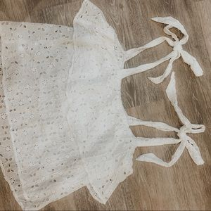 Urban Outfitters Tops - Baby doll tie top